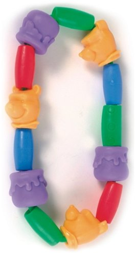 Learning Curve Disney Pooh Teething Beads back-1039324