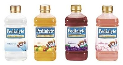 Pedialyte Oral Electrolyte Maintenance Solution, Fruit Flavor - 1 ltr each Bottle, 8 Bottles / Case