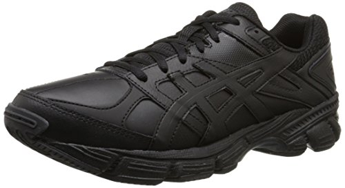 ASICS Men's Gel-190 TR Training Shoe, Black/Black/Silver, 11 M US