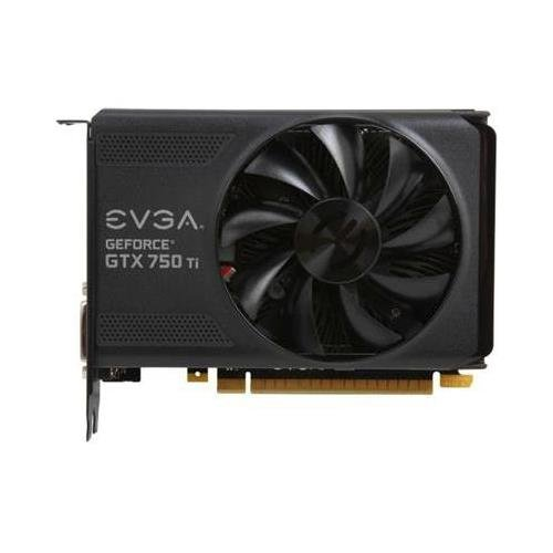 eVGA 02G-P4-3751-KR -GTX750 Ti 2GB DDR5 128Bit PCI-Express DVI-I/DVI-D/HDMI/DisplayPort Video Card cie free shipping handmade tassels round toe full brogues slip on loafer calf leather men shoe leather bottom breathableloafer79