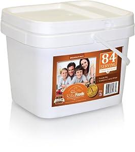 Relief Foods 4 Week All Breakfast Meals Emergency Food Supply Bucket (84-Serving)