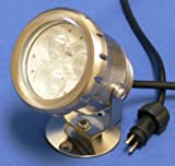 Submersible Pond Light 3 High power LED with Transformer