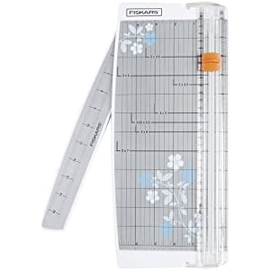 Fiskars Patented Triple Track Portable Fashion Paper Trimmer