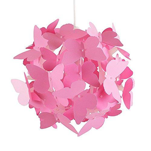 MiniSun-Paralume-bello-e-moderno-per-lampada-a-sospensione-con-motivo-di-farfalle
