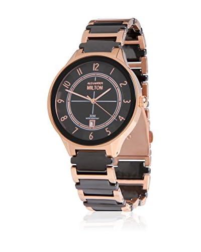 Metropolitan Reloj de cuarzo Geryon Negro 39.00 mm