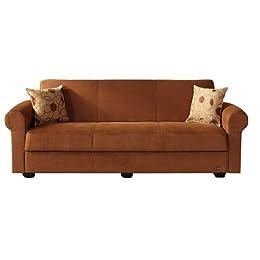 Contemporary Microfiber Sleeper Sofa from Tar Living Room Furniture