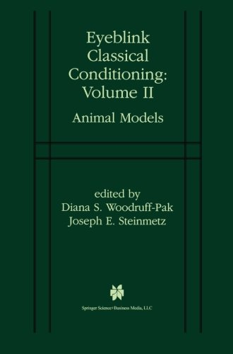 Eyeblink Classical Conditioning Volume 2: Animal Models front-845715