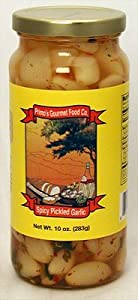 Primos Spicy Pickled Garlic by Primo's Gourmet Food Company