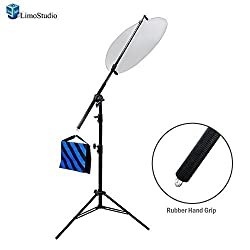LimoStudio Photo Reflector Arm Stand Reflector Stand Holder Boom Arm, AGG812