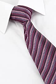 Machine Washable Embroidered Spotted Tie