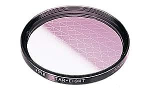 Hoya 55mm Eight Point Cross Screen Glass Filter (8X)