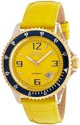 Ritmo Mundo Women's 312 Yellow YG Hercules Automatic Dial Watch