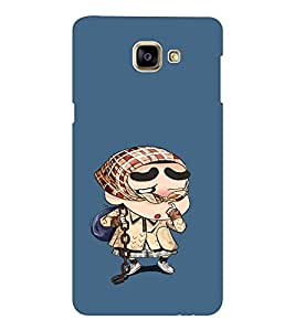 EPICCASE Ching Shang Mobile Back Case Cover For Samsung Galaxy A9 (Designer Case)