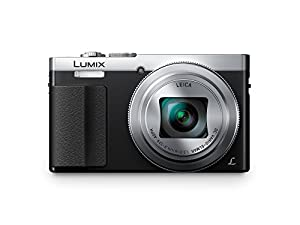 Panasonic DMC-ZS50S LUMIX 30X Travel Zoom Camera with Eye Viewfinder (Silver)