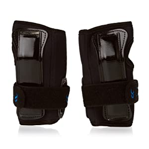 Demon Snow Wrist Guard Black, S