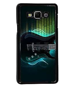 Printvisa 2D Printed Music Designer back case cover for Samsung Galaxy A7 SM - A700F - D4547