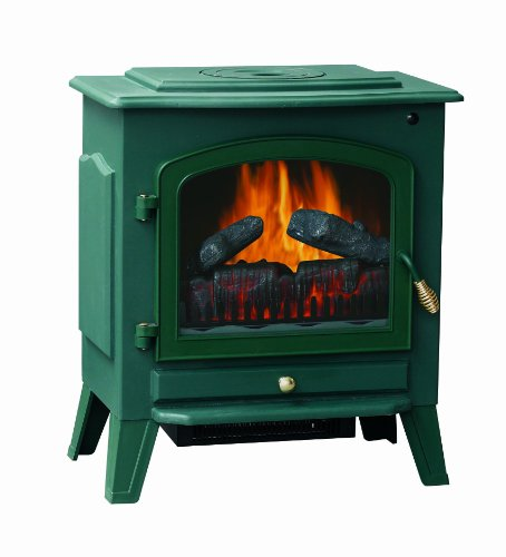 Riverstone Industries Electric Stove Heater Green