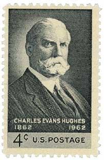 #1195 - 1962 4c Charles Evans Hughes U. S. Postage Stamp Plate Block (4)