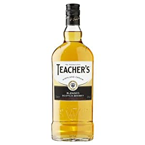 Teachers Highland Cream - Blended Scotch Whisky - 1 Ltr Litre - 40% ABV