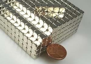 20 Neodym-Supermagnete-Würfel 5 mm
