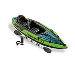 Buy INTEX 2 Person Challenger K2 Inflatable Kayak+Pump by Intex