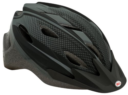 Bell Adrenaline Bike Helmet, Matte Black Carbon