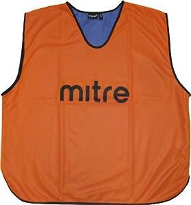 Mitre Dossards d'entrainement homme  1 pièce Orange/Royal Junior