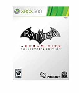 Batman Arkham City Collectors Edition Amazon Exclusive - Xbox 360