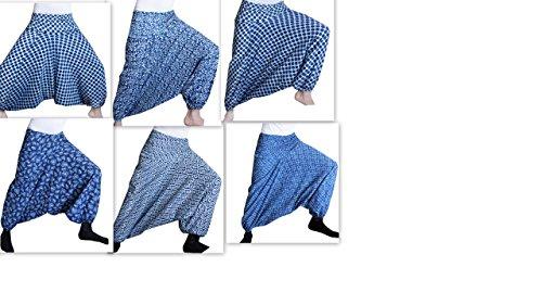 LOT of 5 PCS Indian Hippie Yoga Trouser Soft Comfortable Alibaba Pants Women Indian Plan Harem Trouser Pant Yoga Wear Pants Hand block printed
