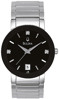 Bulova Men'S 96D18 Stainless Steel Watch