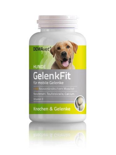 Bild von: DEMAvet GelenkFit - Ergänzungsfuttermittel für Hunde - 120 Tabs - für mobile Gelenke und starke Knochen