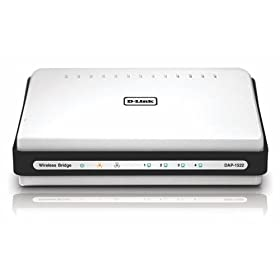 D-Link DAP1522 Xtreme 4-Port GigaBit Selectable Dual Band Draft 802.11n N Duo Wireless Bridge/Access Point