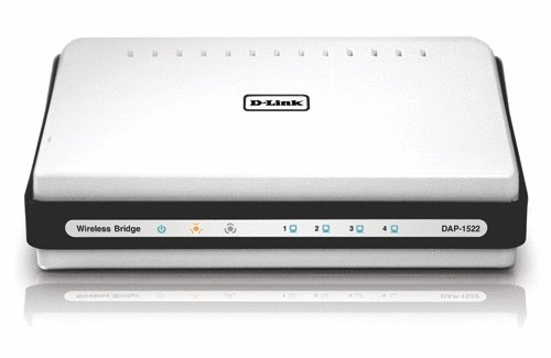 D-Link DAP-1522 Xtreme 4-Port GigaBit Selectable Dual Band Draft 802.11n N Duo Wireless Bridge/Access Point