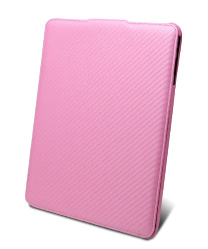 Mivizu Sleek Apple iPad genuine leather hard flip case cover for iPad 3G / iPad Wifi 16gb 32gb 64gb (More Colors Available)