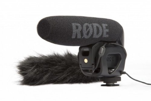 Rode Videomic Pro with VMP Deadcat Wind Muff