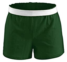 Soffe Juniors Athletic Shorts The Original Short, Dark Green, Medium