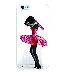 ColourCraft Dancing Girl Back Case Cover for APPLE IPHONE 6S