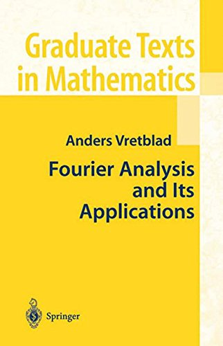 Fourier Analysis and Its Applications (Graduate Texts in Mathematics)