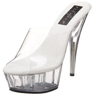 Amazon.com: Pleaser Women's Delight-601 Platform Slide: Shoes