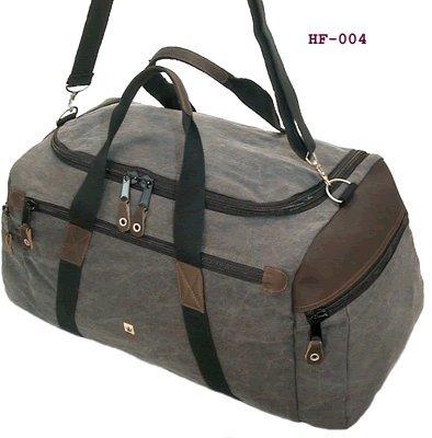 Hanf Reisetasche klassisch HF004 grau PURE Original