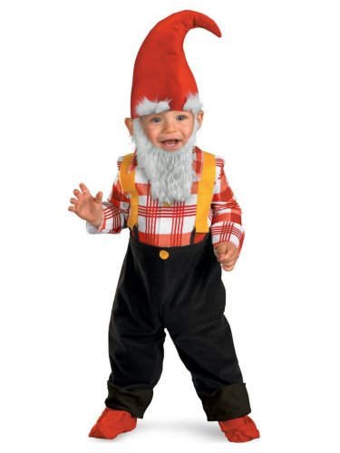 Disguise Baby-boys Garden Gnome Costume
