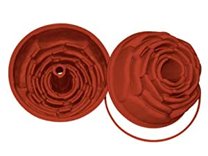 Professional Silikomart Uniflex Rose Silicone Mold Baking Pan