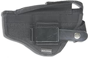 Bulldog Cases Belt and Clip Ambi Holster (Fits Most Standard Auto's with 2 - 4-Inch Barrels, Glock 17,19)
