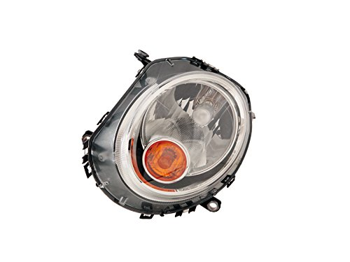 MINI COOPER S clubman 07- 13 HALOGEN HEAD LIGHT with AMBER SIGNAL LH 63132751869 (Mini Cooper Headlight Assembly compare prices)