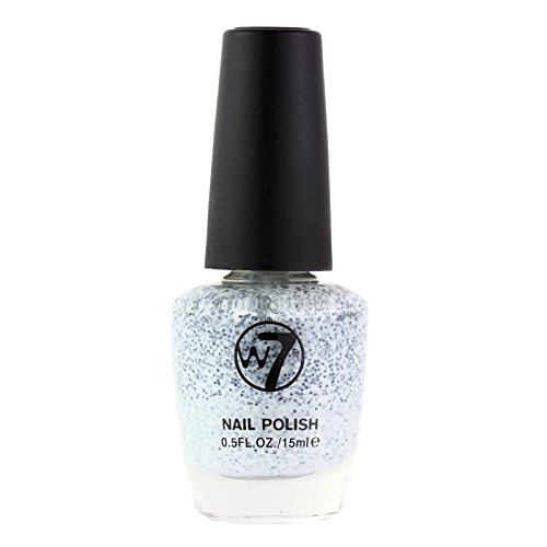 W7 Nail Polish 98 Salt N Pepper, 15 ml, 1-pack (1 x 0.015 l)