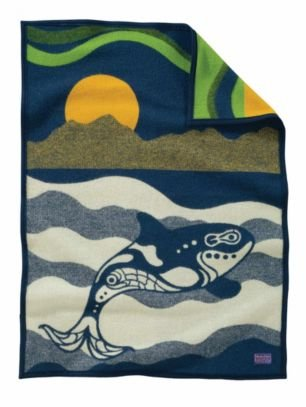 Pendleton Muchacho Blanket Sea Wolf, One Size front-75046