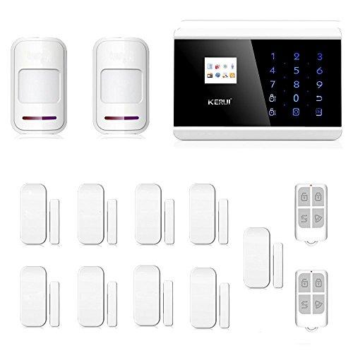 ABTO GSM Landline Burglar Alarm Motion Sensor With Door Security For House  Alarm