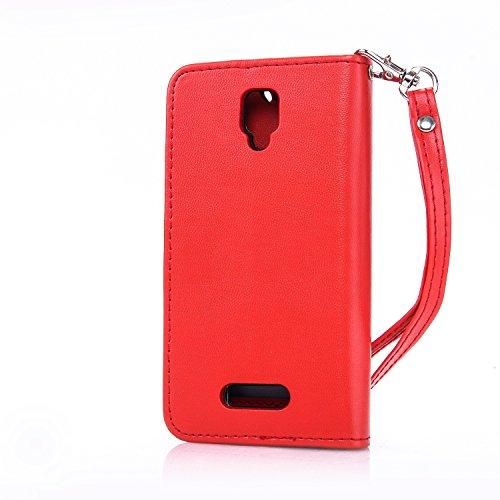Leather-Case-Cover-Custodia-per-Lenovo-A1000-Cozy-Hut-Caso-copertura-telefono-involucro-del-modello-PU-con-a-Bookstyle-tasche-carte-di-credito-funzione-con-interno-morbido-in-TPU-Portafoglio-Supporto-