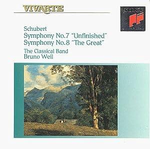 Schubert: Symphony No. 7, Unfinished & Symphony 8, The Great