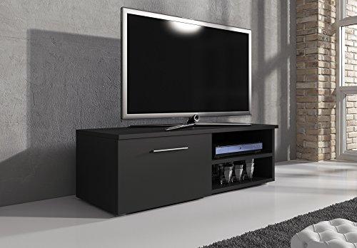 Mobile per TV, supporto TV Mobile Entertainment Vegas Nero Opaco 120cm